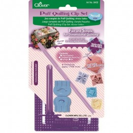 Clover Puff Quilting Clip Set Small