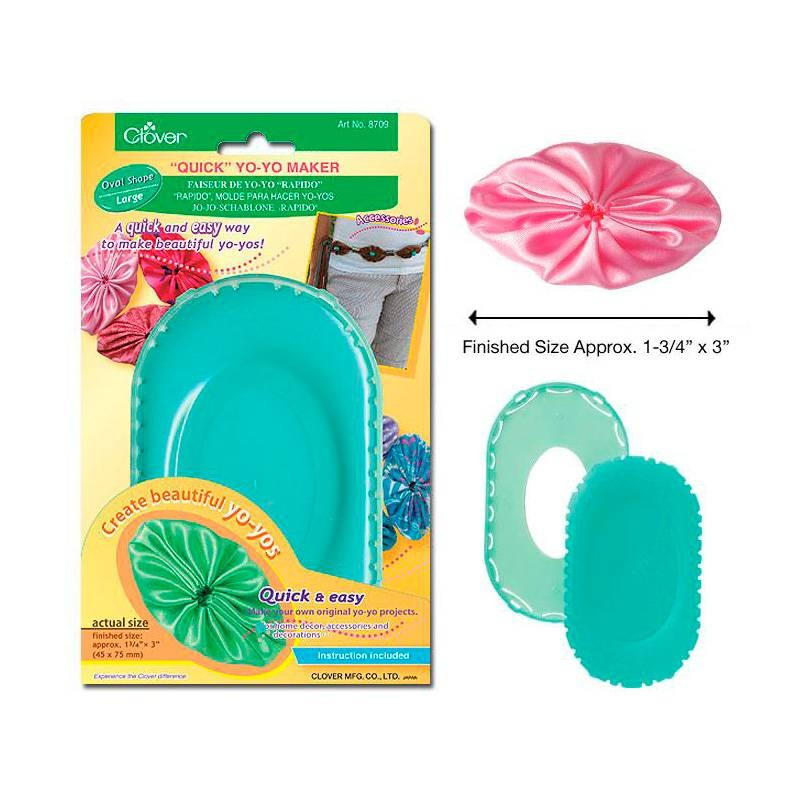 Clover Quick Yoyo Maker Oval Shape Large