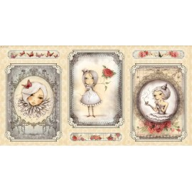 Panel Mirabelle - Girl Picture Crema