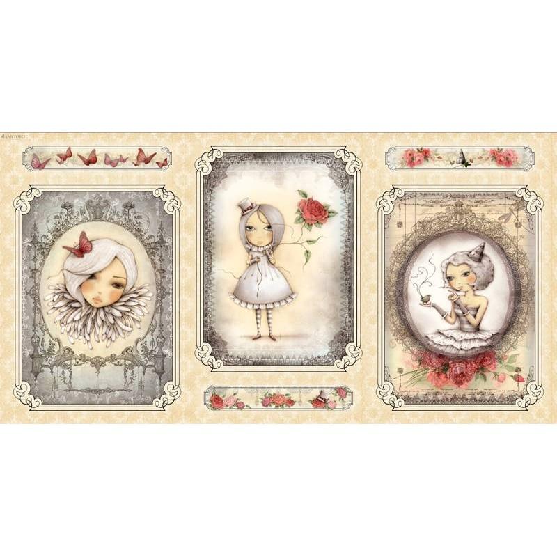 Mirabelle Panel - Girl Picture Cream