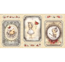 Mirabelle Panel - Girl Picture Cream