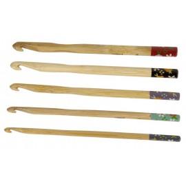 Aguja de Ganchillo Bambú Artesanales DMC