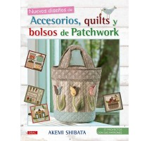 Nuevos diseños de Accesorios, quilts y bolsos de Patchwork