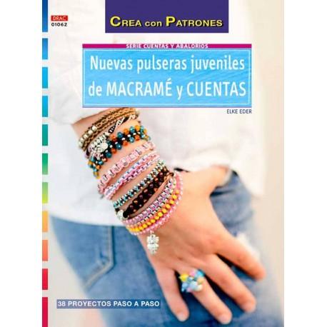 Nuevas pulseras juveniles de macramé y cuentas