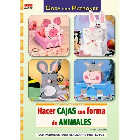 Hacer cajas con forma de animales