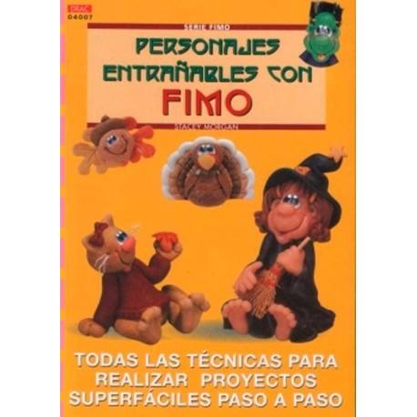 Personajes entrañables con Fimo