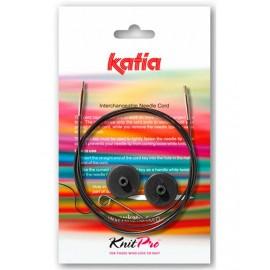 Cable Intercambiable Katia para Agujas Circulares