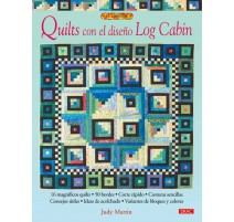 Quilts con el diseño Log Cabin