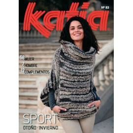Katia Knitting Magazine Woman Nº 83 Sport