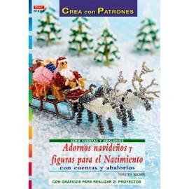 Adornos navideños y figuras...