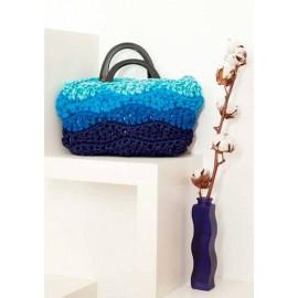 Bolsos y objetos para la casa de trapillo tejidos a ganchillo y punto