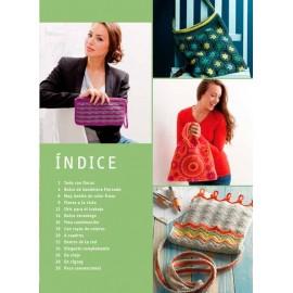 Bolsos de ganchillo con diseños modernos