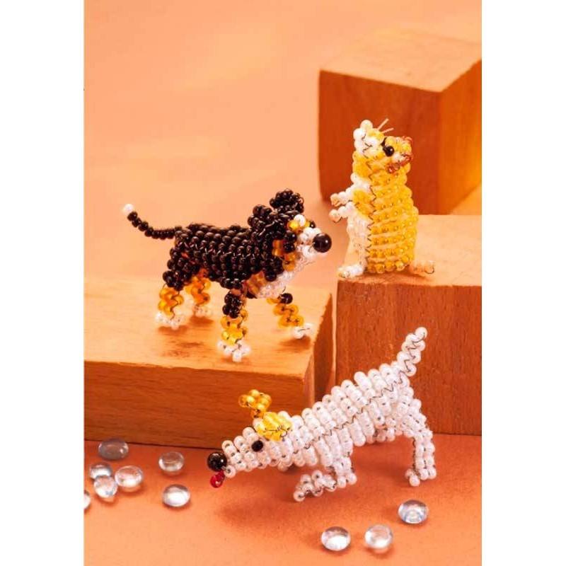 3b74f4b1721c Mis mascotas favoritas con cuentas y abalorios - Las Tijeras Mágicas