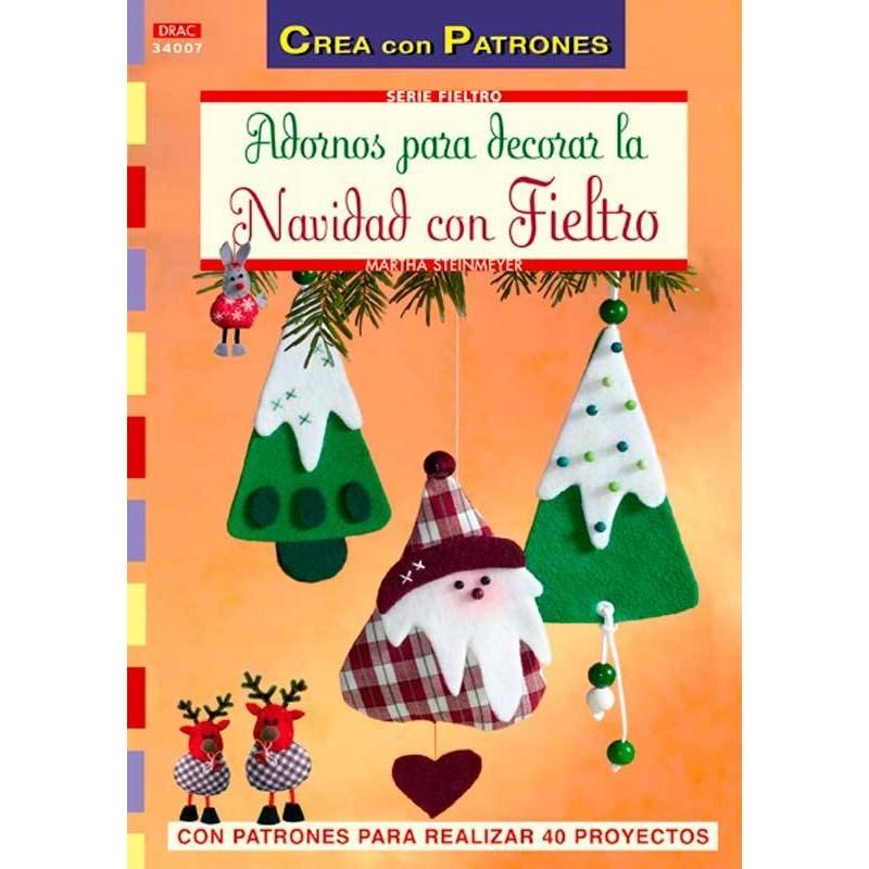 Adornos para decorar la Navidad con fieltro
