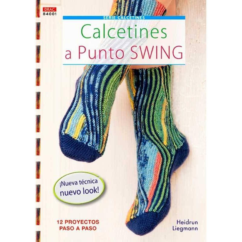 Calcetines a punto swing - Las Tijeras Mágicas