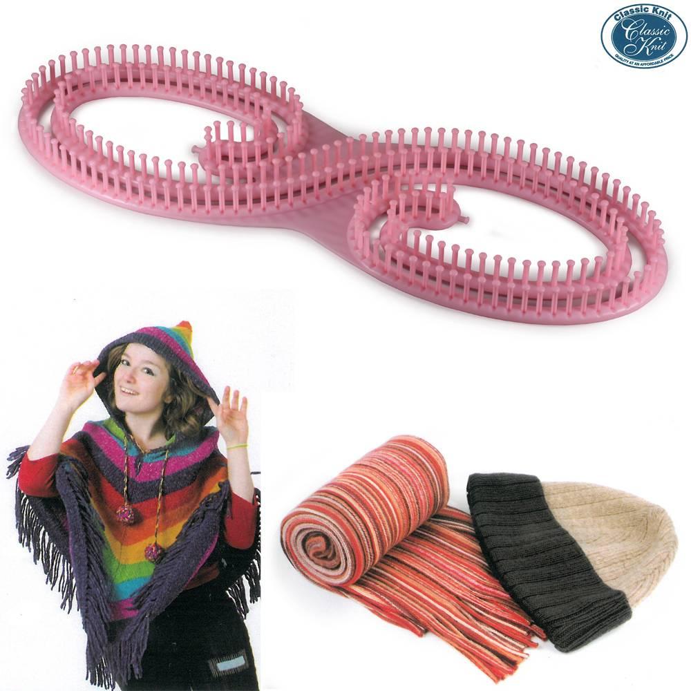 Telar Extra largo Super 8 Classic Knit - Las Tijeras Mágicas