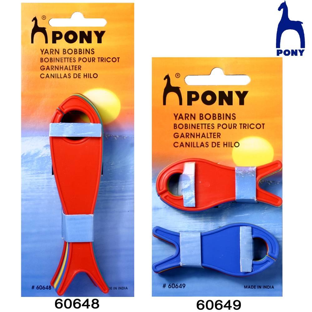 Pony bobinas de hilo para tejer