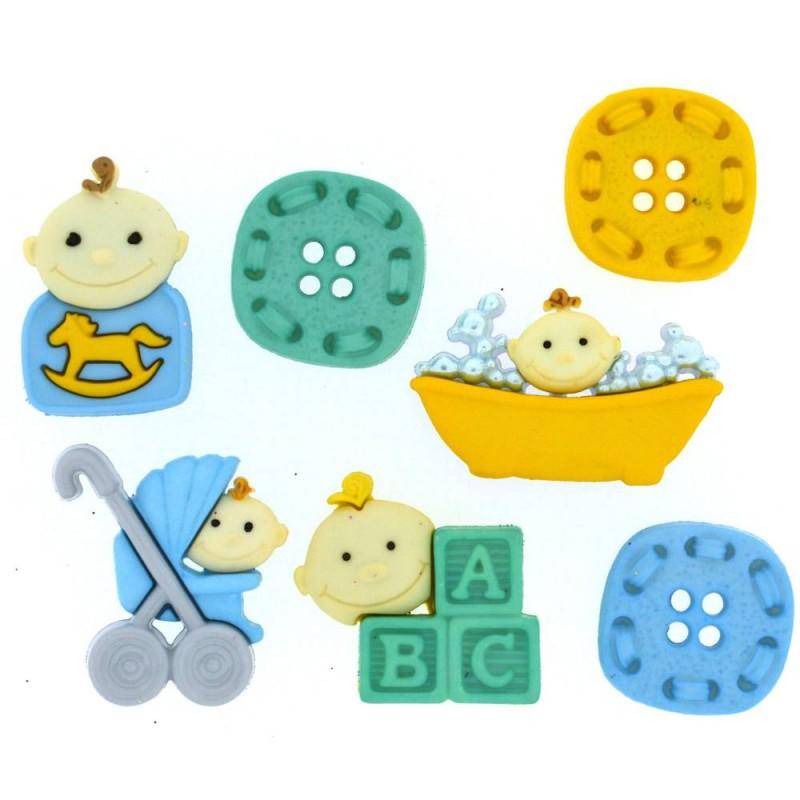 Baby Fun - Boy Button