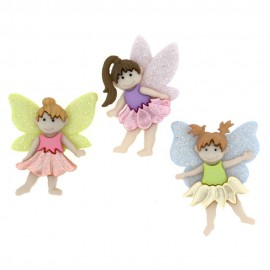 Elite Collection Flower Fairies Button