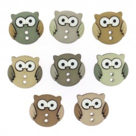 Sew Cute Owls Buttons