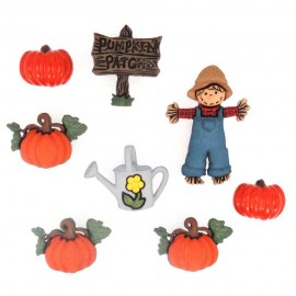 Pumpkin Patch Buttons