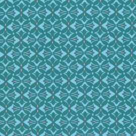 Dreamweaver - Cross Print - Teal