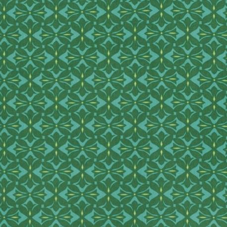 Dreamweaver - Cross Print - Pine