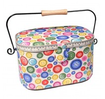 Sewing Box - Colored Buttons
