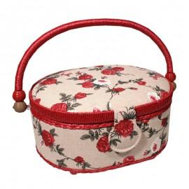 Costurero - Rosas Rojas (Pequeño)