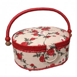 Sewing Box - Autumn Roses (Small)