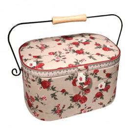 Sewing Box - Autumn Roses (Large)