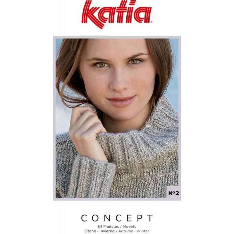 Katia Knitting Magazine Nº 2 Concept