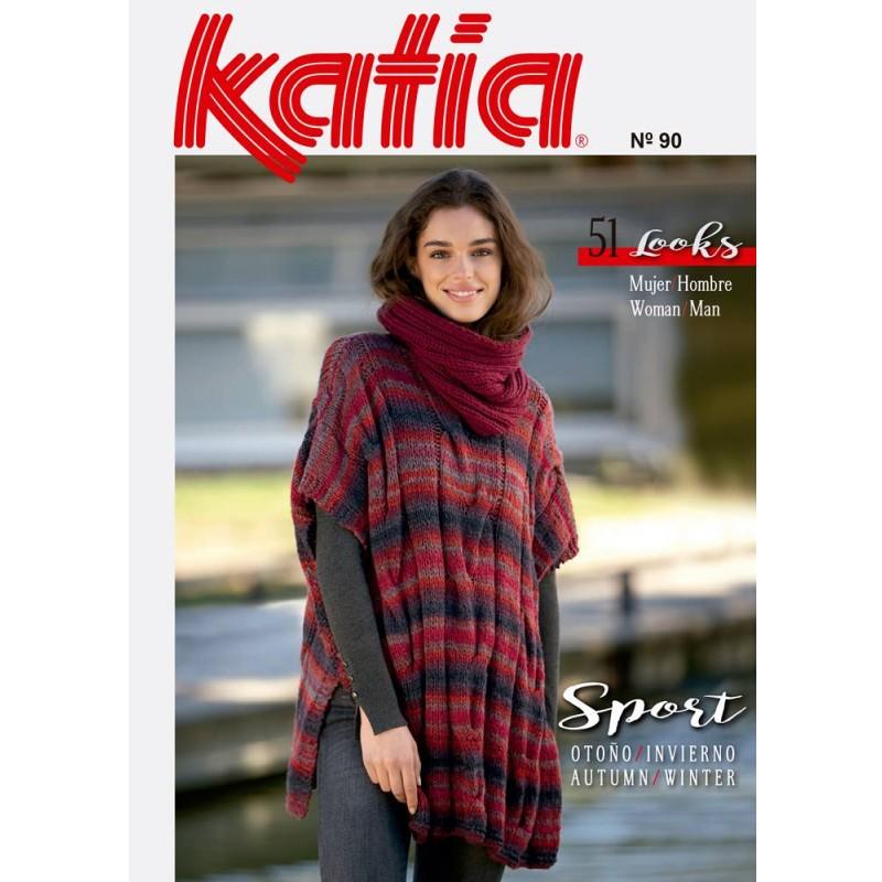 Katia Knitting Magazine Woman Nº 90 Sport