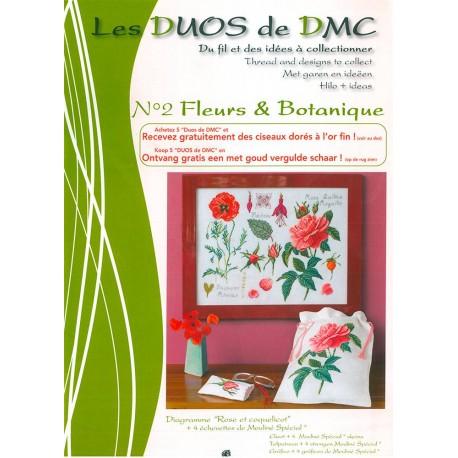 Les Duos DMC Nº 2 - Rose et coquelicot