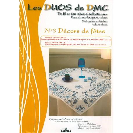 Los Duos DMC Nº 3 - Ornamentos azules