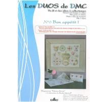 Los Duos DMC Nº 6 - Loza floreada