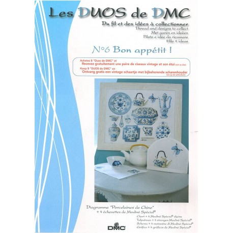 Los Duos DMC Nº 6 - Porcelanas de China