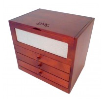 DMC Wooden Sewing Box