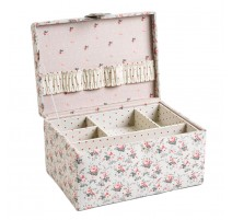 Costurero DMC Little Roses Vintage 1 compartimento