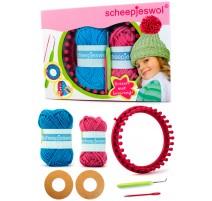 Knitting Kit with Circular Knitting Loom - Scheepjes