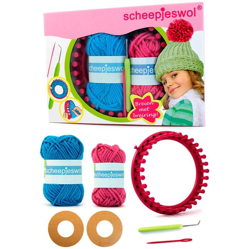 Kit de punto con telar circular - Scheepjes - Las Tijeras Mágicas